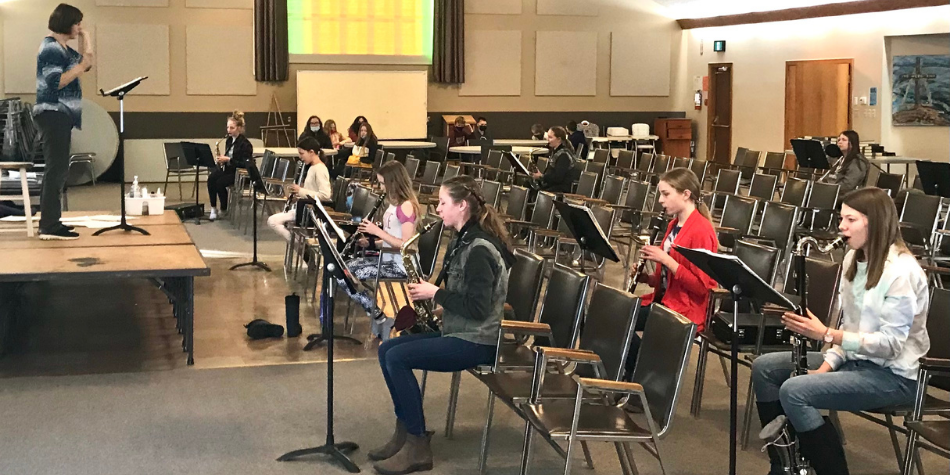 Students at NPCS have opportunities to practice being God worshippers